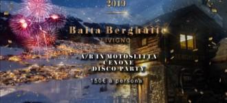 Capodanno 2019 baita Berghütte Livigno