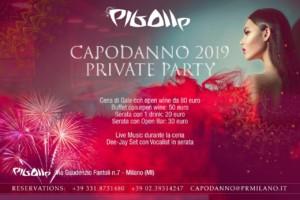 Capodanno private party Milano Pigalle 2019
